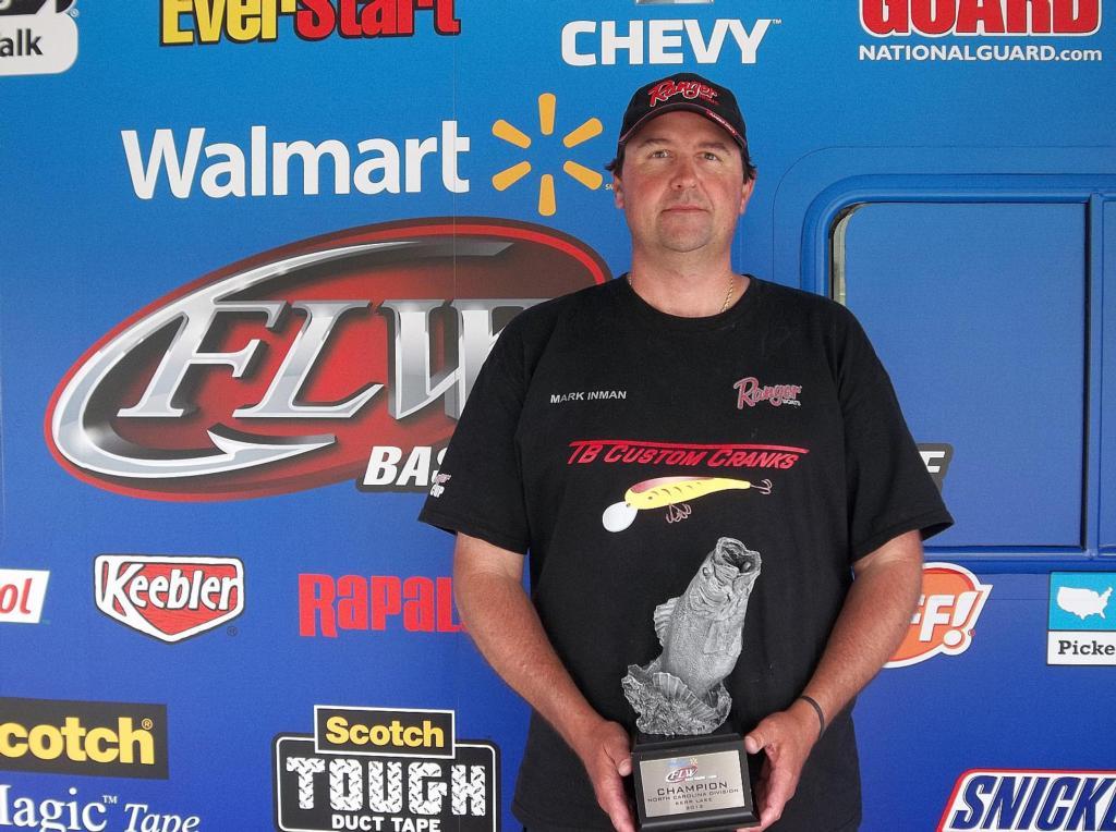 Image for Inman wins BFL North Carolina Division event on Kerr Lake