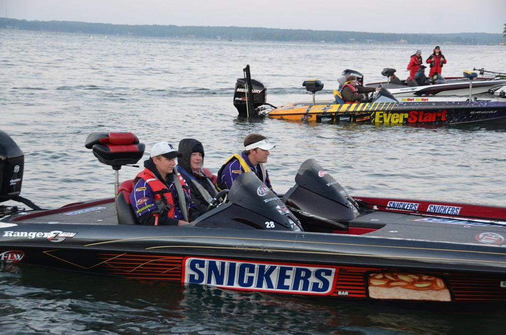 Image for FLW College Fishing National Championship under way
