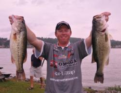 Casey Martin of New Market, Ala., looking for a repeat win after his BFL victory with 27-9 for second place.