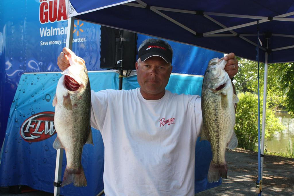 Image for Ricketts makes racket on Kentucky Lake