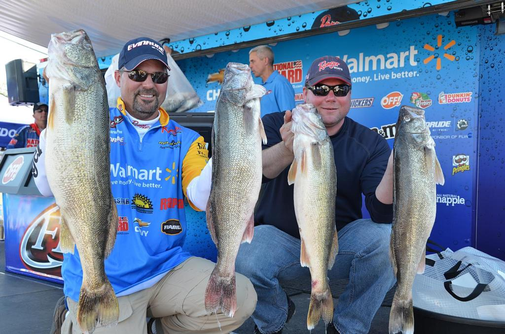 Image for Arnoldussen Leads National Guard FLW Walleye Tour Event On Lake Erie