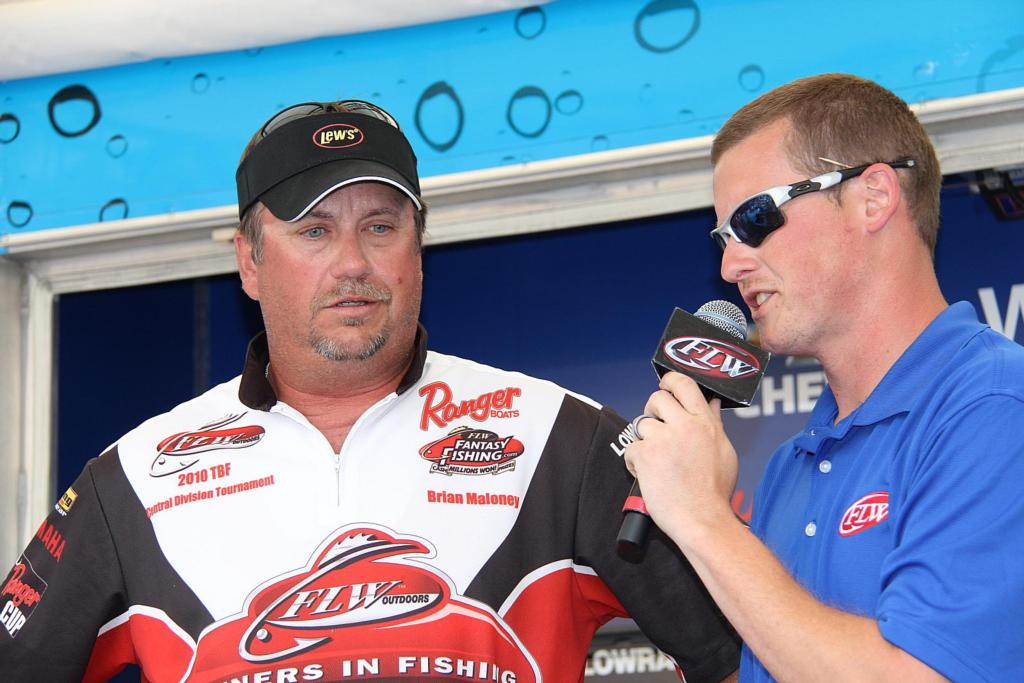 Image for Maloney continues to lead against nation's best weekend anglers at BFL All-American on Potomac River