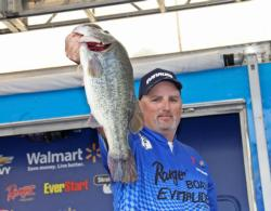 This 5-pound, 14-ounce bass anchored the fourth-place bag for Scott Hamrick.