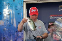 Bobby Drinnon, of Rogersville, Tenn. finished second on the Potomac River.