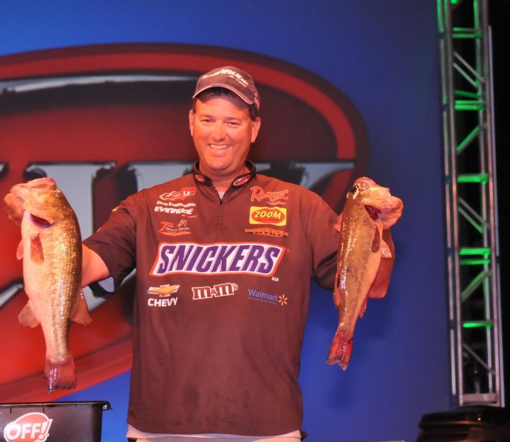Image for Baumgardner leads Walmart FLW Tour Kentucky Lake event