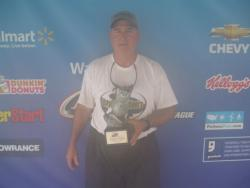 Co-angler Joe Nance of Pearland, Texas, won the June 9 Cowboy Division event on Bayou Black with a weight of 10 pounds, 5 ounces. For his efforts he was awarded over $1,100 in winnings.