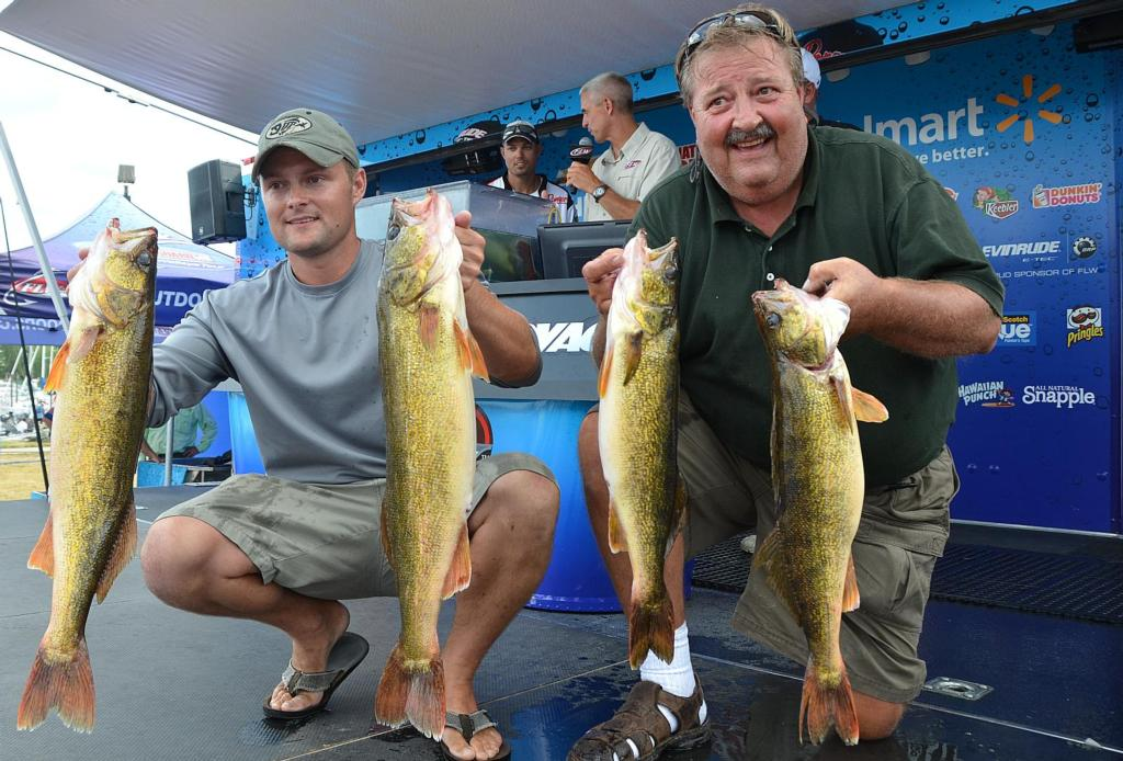 Image for Dempsey Leads National Guard FLW Walleye Tour Event At Bays de Noc