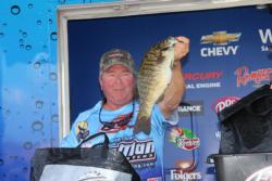 Local favorite, Rich Clarke had a good showing on day three and took second place.