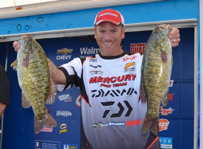Joe Balog retained his second-place position after catching another 21-pound limit from Lake Erie.