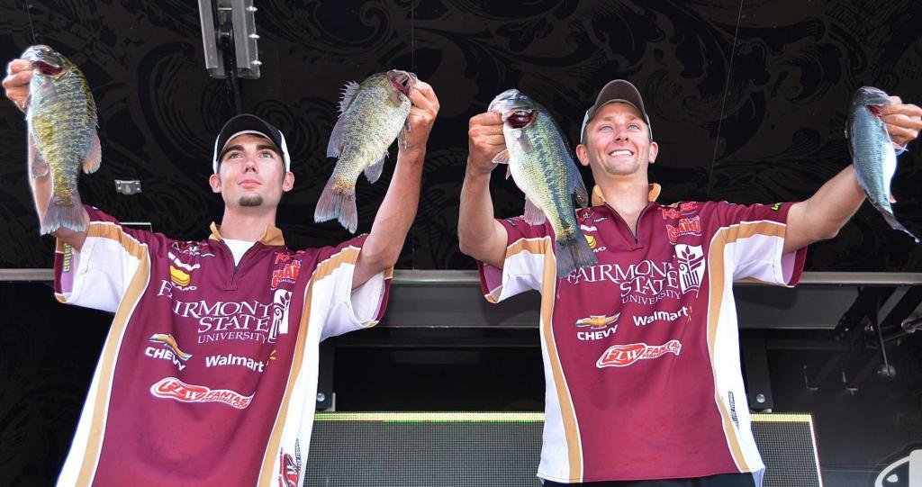Image for Fairmont State University takes early lead at National Guard FLW College Fishing Northern Conference Championship