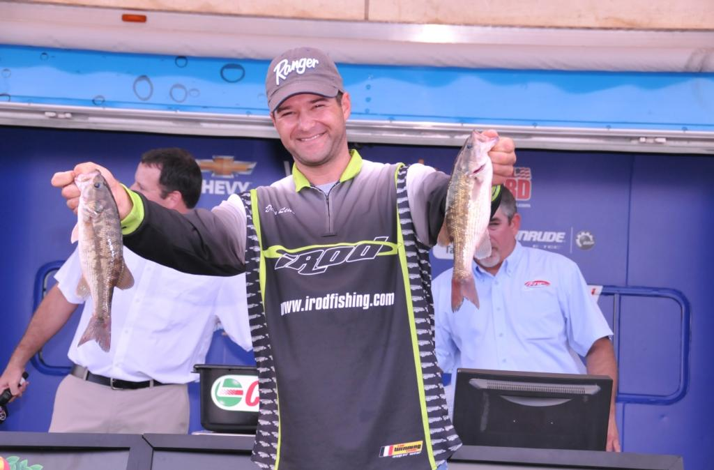 Image for Leue lights up Ouachita River with Co-angler win