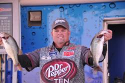 James Stricklin, Jr., of Texarkana, Texas, finished third with a four-day total of 32 pounds, 8 ounces.