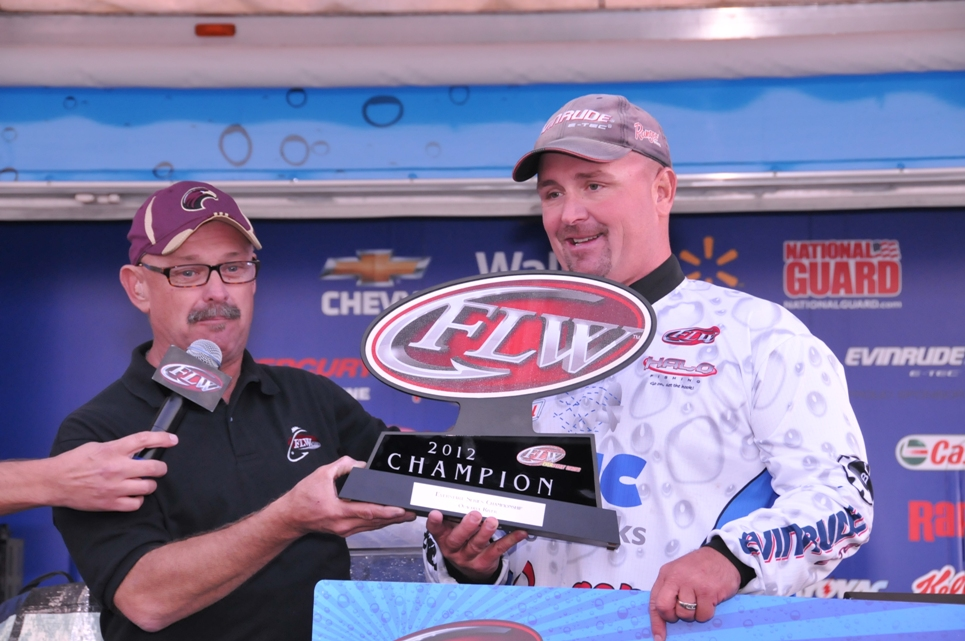 Image for Kreiger pulls out victory at Everstart Championship on Ouachita River presented by Castrol