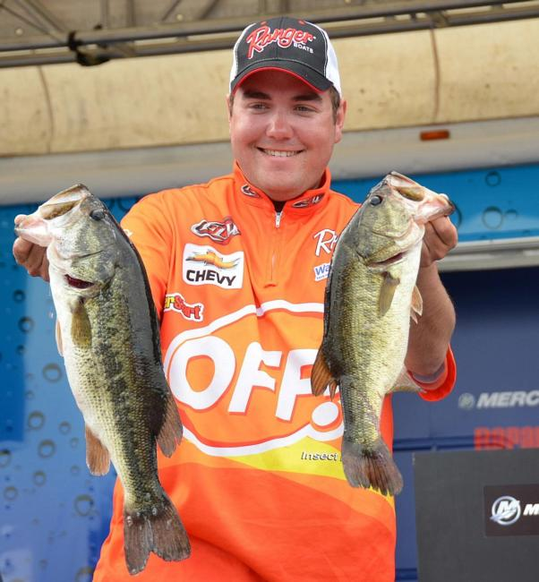 Michael Neal finished the Lake Okeechobee event third with a total weight of 67 pounds, 12 ounces.
