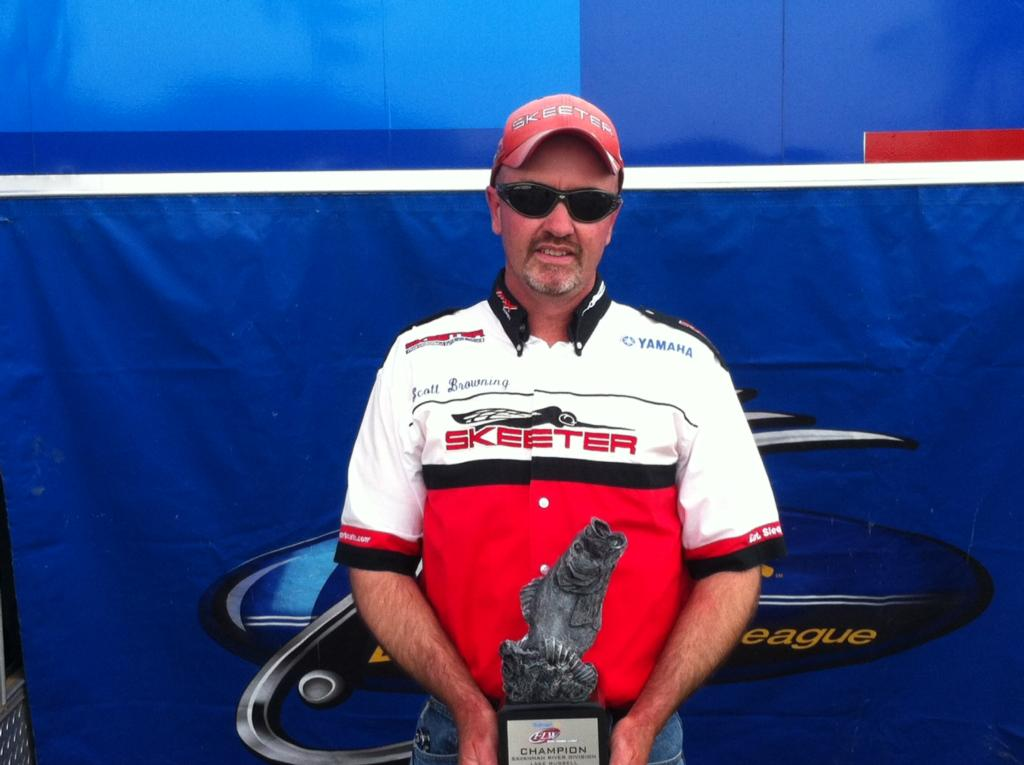 Image for Browning takes title on Lake Russell