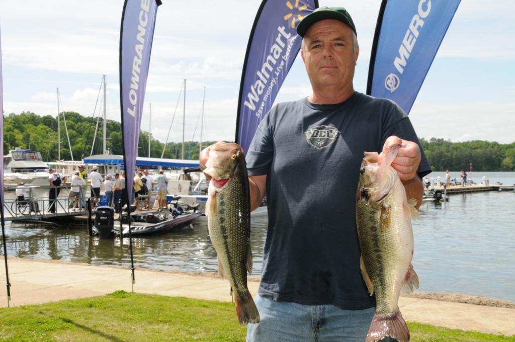 Image for Merriman maintains lead at Wheeler Lake