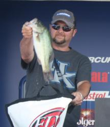 Michael Brown leapt from ninth to second on the co-angler side with a three-day weight of 46 pounds, 13 ounces.