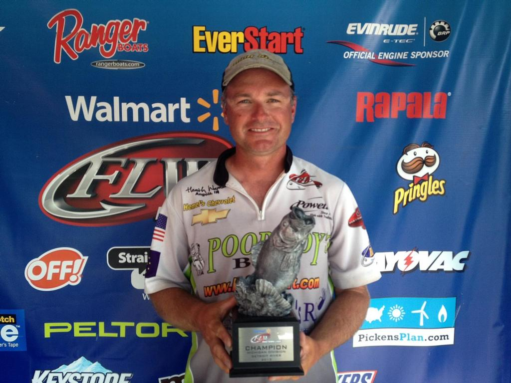 Image for Wagner nets BFL win on Detroit River