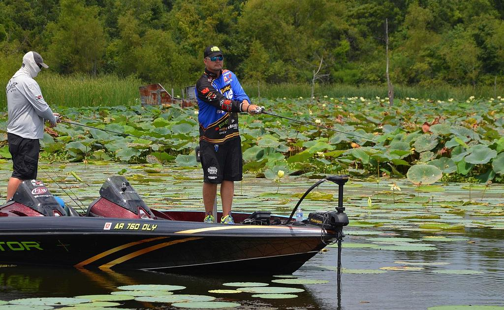 Image for Tuesday Tour Update: Scheide feeling good, fishing good