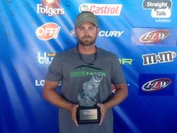 Co-angler Nik Kayler of Apopka, Fla., won the Sept. 21-22 Gator Division Super Tournament on Lake Okeechobee with a two-day limit weighing 31 pounds, 8 ounces. He was awarded over $3,700 for his victory.