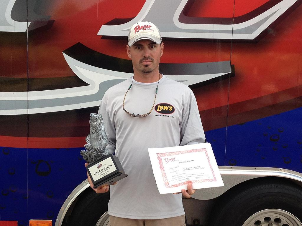 Image for Fowler takes BFL Regional on Lake Hartwell