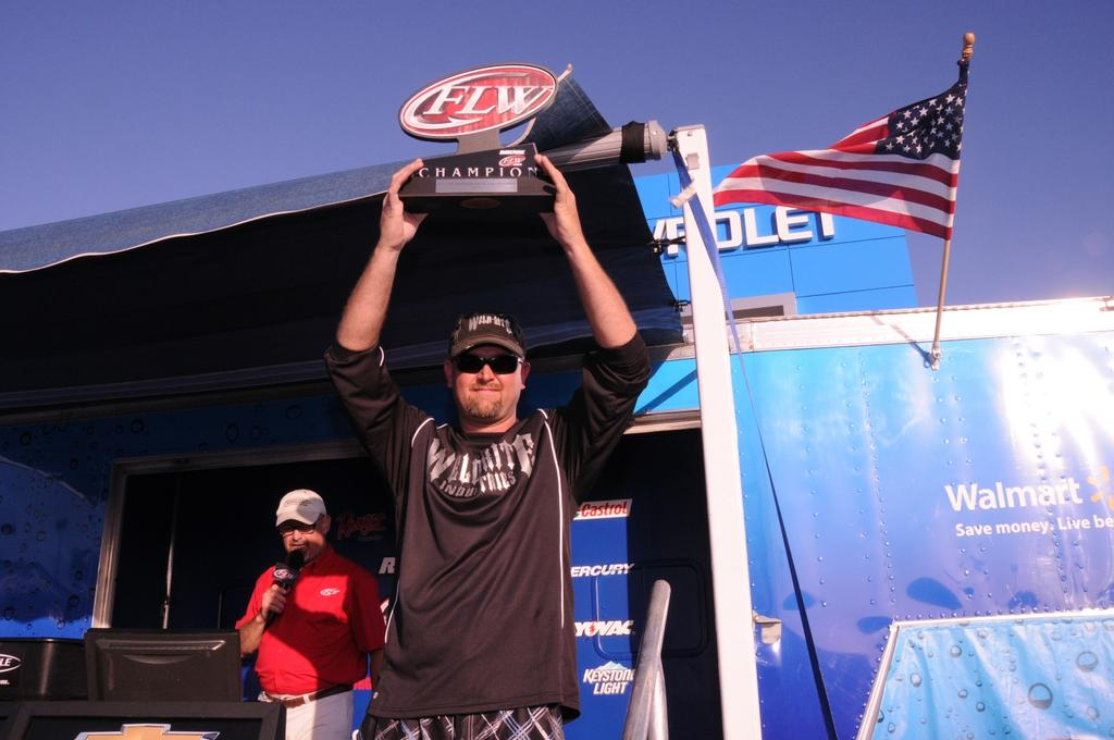 Image for Jaeger wins Co-angler Division of Rayovac FLW Series
