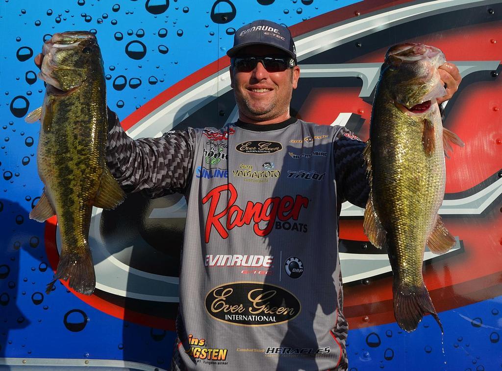 Image for Hite Holds Lead At Walmart FLW Tour Season Opener On Lake Okeechobee