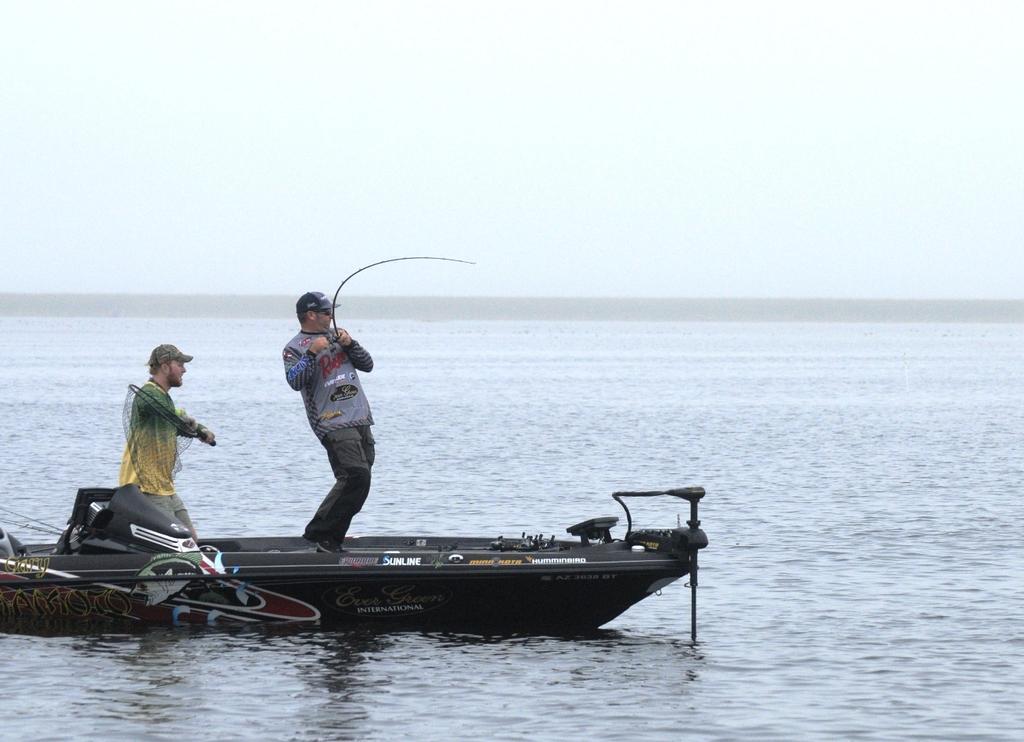 Image for Hite Maintains Lead At Walmart FLW Tour Season Opener On Lake Okeechobee