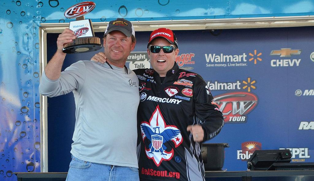 Image for Day-one Dave delivers co-angler title