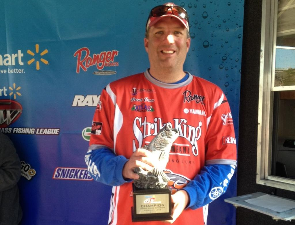 Image for Crow wins BFL event on Pickwick Lake