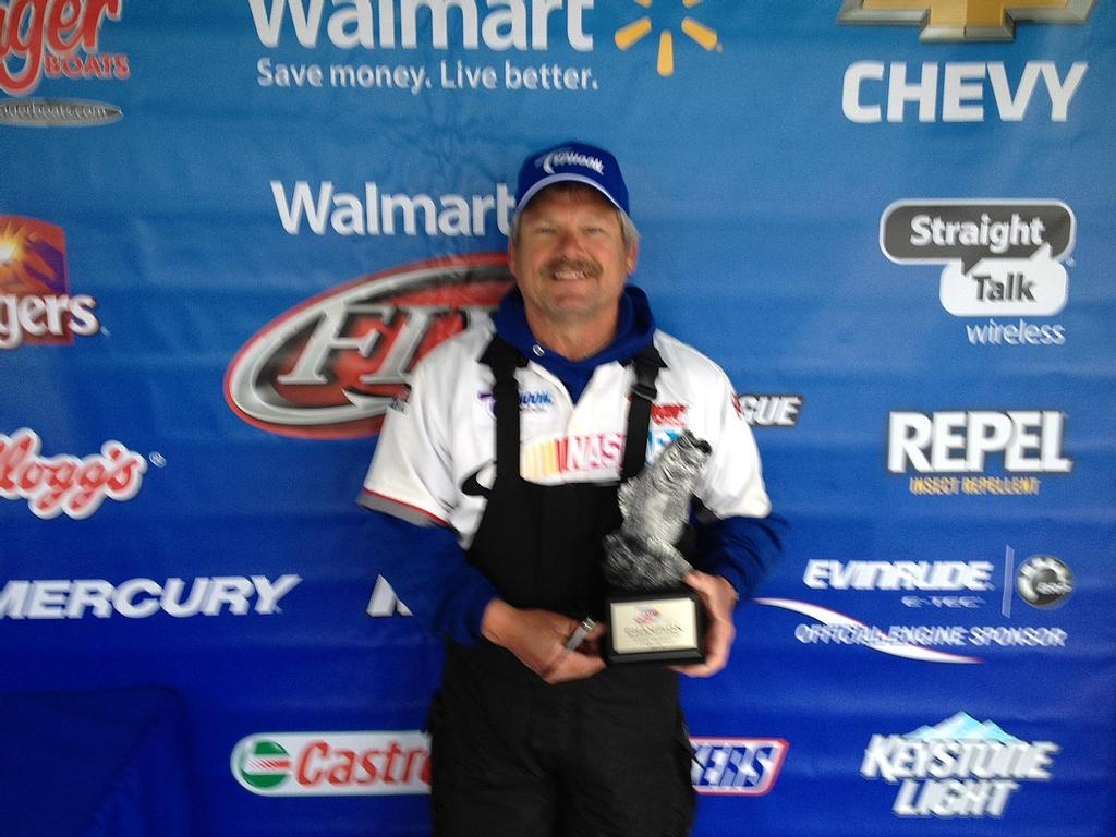 Image for Sisk claims title on Lake Patoka
