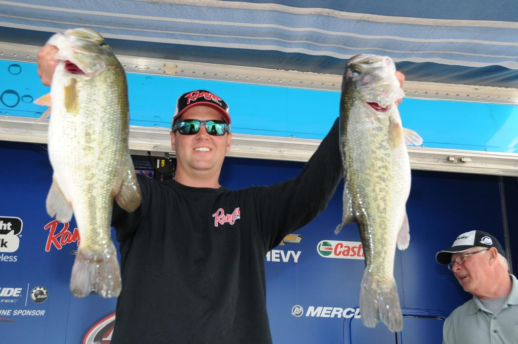 Image for Schultz bolts to the lead at Guntersville