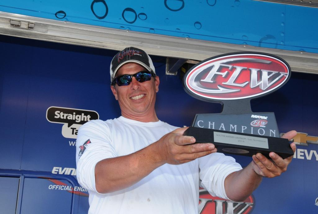 Image for Acree wins Co-angler Division