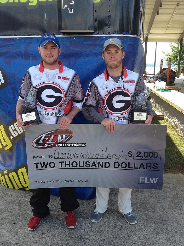 Image for University Of Georgia Wins FLW College Fishing Southeastern Conference Event On Lake Guntersville