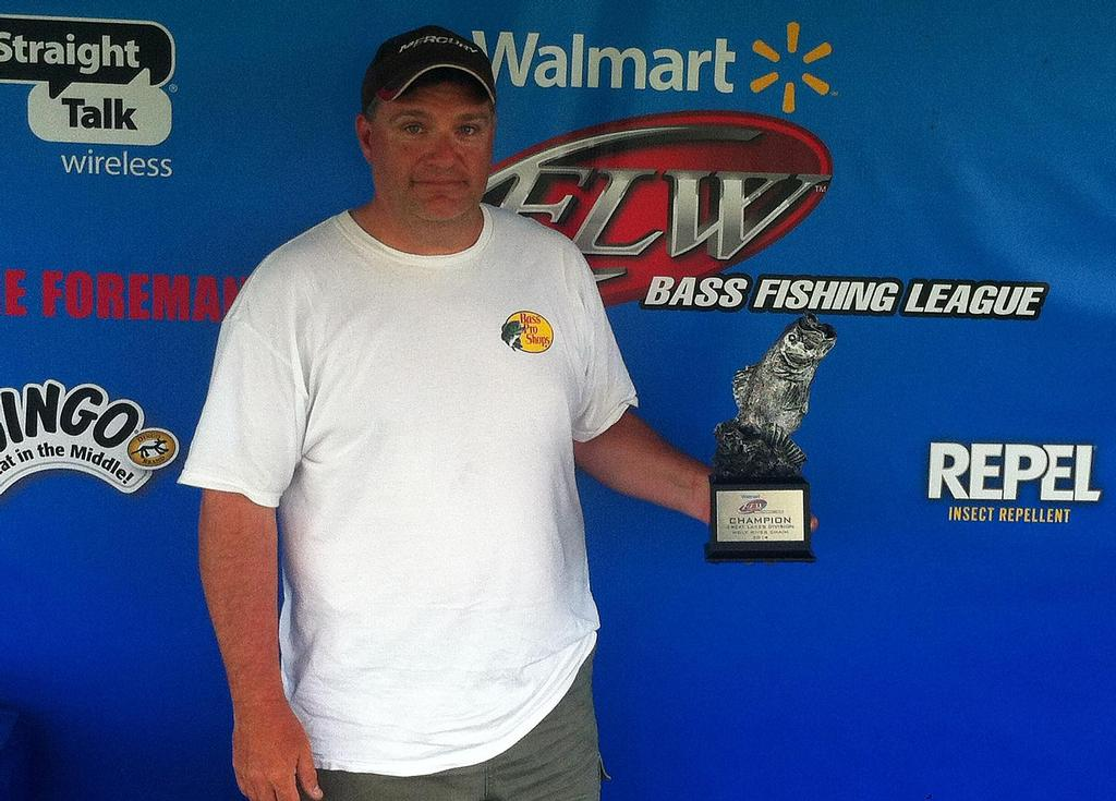 Image for Mayan tastes victory on Wolf River Chain