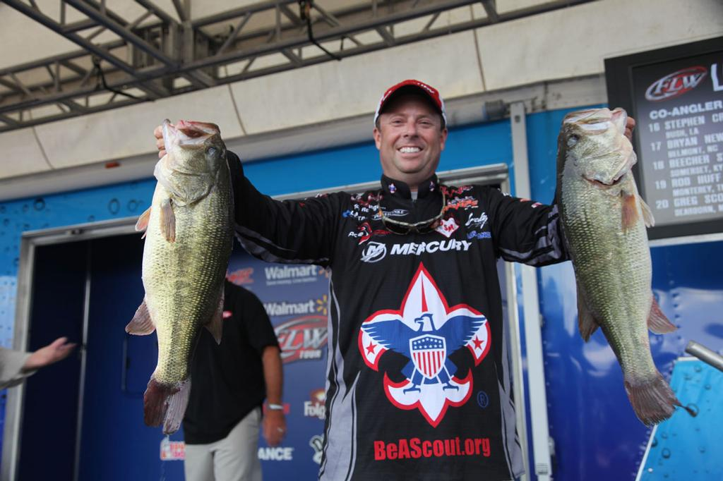 Image for Redington Takes Lead At Walmart FLW Tour Event On Kentucky Lake Presented By Evinrude