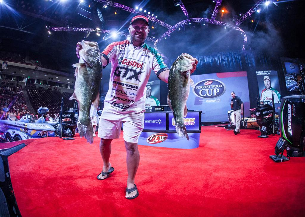 Image for Dudley Leads Professional Bass Fishing's Forrest Wood Cup Presented By Walmart