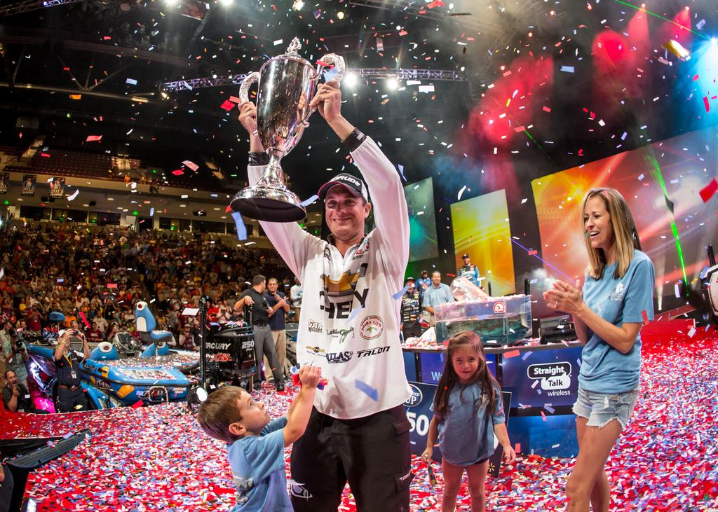 Image for Gagliardi Wins Professional Bass Fishing's Forrest Wood Cup Presented By Walmart