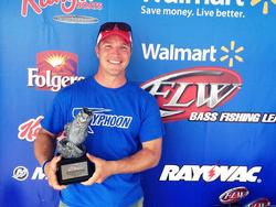 Co-angler Brian Nappier of Huntersville, N.C., won the Aug. 23-24 Piedmont Division Super Tournament on Kerr Lake with a two-day total weight of 16 pounds, 7 ounces. He walked away with over $2,200 in earnings for his victory.