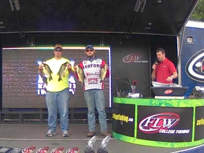 2014 College Fishing Potomac River - Invitational Oct 11 -  12 - JUSTIN WITTEN