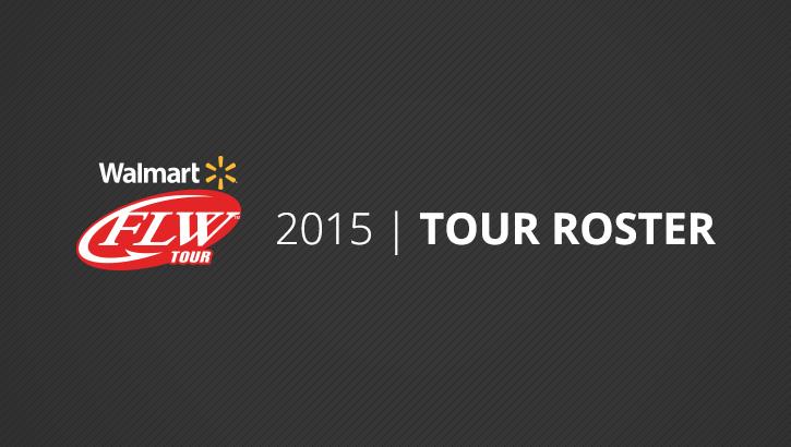 Image for FLW Announces 2015 Walmart FLW Tour Roster