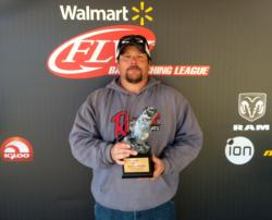Co-angler Brian Garner of McDonough, Ga., won the March 28 Bulldog Division event on Lake Sinclair with a 17-pound, 12-ounce limit to earn a $2,000 payday.