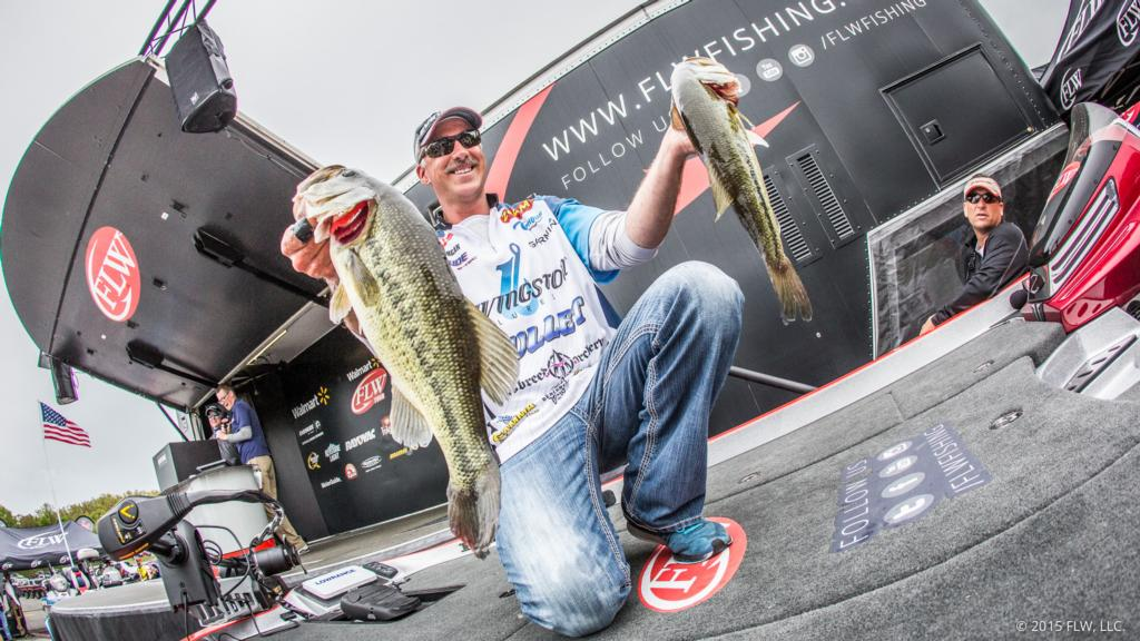 Image for Morgan Grabs Lead After Day Two Of Walmart FLW Tour On Beaver Lake Presented By Rayovac
