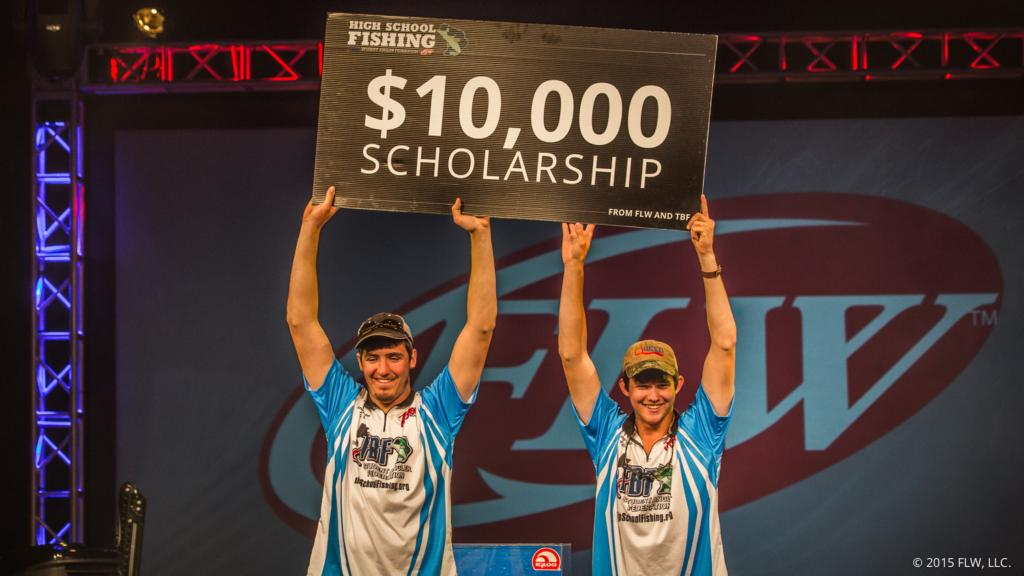 Image for Queen and Black Crowned High School Fishing Champs