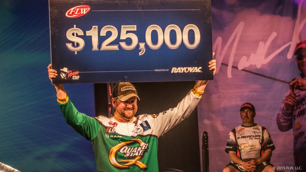 Image for Arey Wins Back-To-Back At Walmart FLW Tour On Beaver Lake Presented By Rayovac