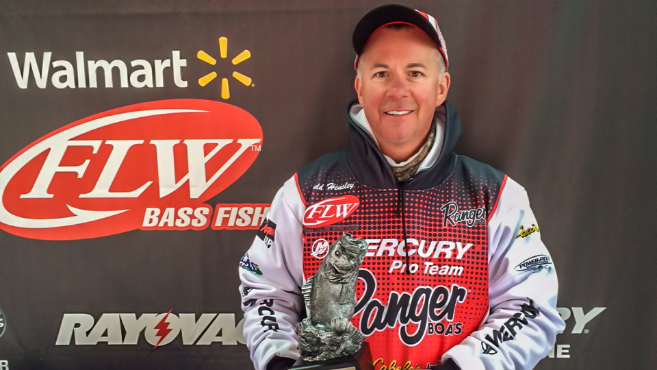 Image for Hensley Targets Bank For Active Fish