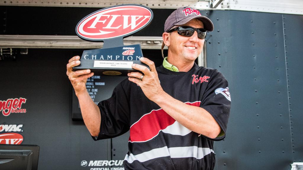 Image for Big Day One Catch Sets Up Lejeune's Texoma Win