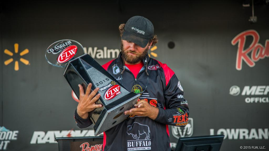 Image for Hunter Captures Co-angler of the Year Title