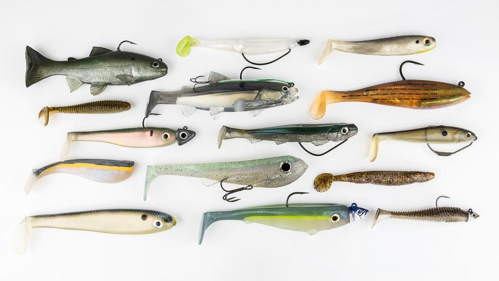 Image for Fishing 101: Soft-Plastic Swimbaits