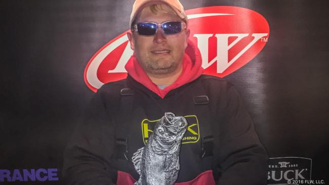 Co-angler Marcus Corbett of Anniston, Ala., won the Feb. 13 Choo Choo Division event on Lake Guntersville with a 19-pound, 3-ounce limit to earn a payday worth over $2,500.